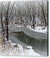 Winter Dreams Acrylic Print