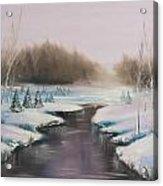 Winter Freeze Acrylic Print