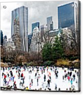 Winter Fun Acrylic Print