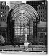 Winter Garden At World Trade Financial Center New York City Acrylic Print