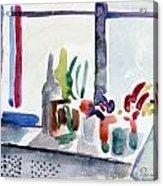 Winter Garden Nyc Acrylic Print
