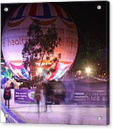 Winter Gardens Ice Rink And Balloon Bournemouth Acrylic Print
