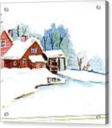 Winter Habitat Acrylic Print