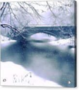 Winter Haiku Acrylic Print