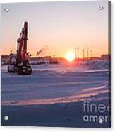 Winter Sunrise  Acrylic Print