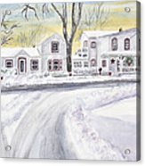 Winter Holidays In Dixboro Mi Acrylic Print