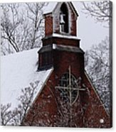 Winter In Dixie Acrylic Print by Vicki Tinnon
