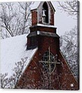 Winter In Dixie Acrylic Print