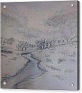 winter in Montana Acrylic Print