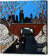 A Walk In The Park Acrylic Print