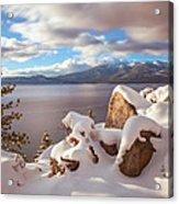 Winter In Tahoe Acrylic Print