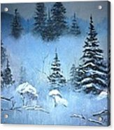 Winter In The Forest Acrylic Print