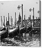 Winter In Venice Acrylic Print