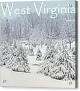 Winter In West Virginia Acrylic Print by Benanne Stiens