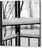 Winter Ironwork Acrylic Print