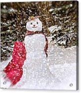 Winter Is Here Acrylic Print