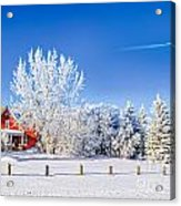 Fabulous Winter. Acrylic Print