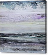 Winter Light Hauxley Haven Acrylic Print
