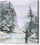 Winter Magic Acrylic Print by Elisabeta Hermann