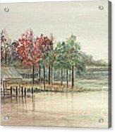 Winter Morning Eastern Branch Acrylic Print