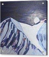 Winter Night In Skye Acrylic Print