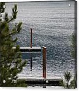 Winter On Lake Coeur D' Alene Acrylic Print