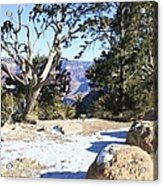 Winter On The South Rim Acrylic Print