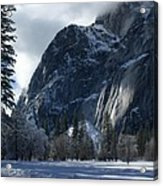 Winter On The Valley Floor Acrylic Print