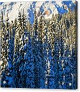 Winter Peak Acrylic Print