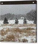 Winter Rain  Acrylic Print