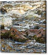 Winter Rapids Acrylic Print