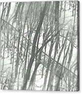 Winter Road Dream Acrylic Print
