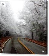 Winter Road Trip Acrylic Print