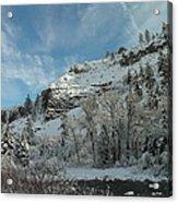 Winter Scene Acrylic Print by Jeff Swan