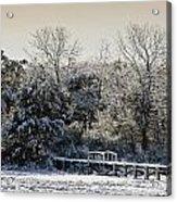 Winter Scenes Acrylic Print