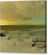 Winter Seascape Acrylic Print