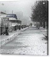 Winter Snow Storm II Acrylic Print