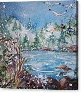 Winter Solstice Acrylic Print