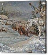 Winter Spirits Acrylic Print