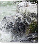 Winter Splash Acrylic Print