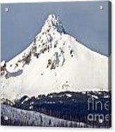 Winter Storm Over Mt. Washington Acrylic Print