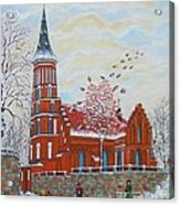 Winter Sunday Acrylic Print