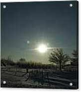 Winter Sunrise 2014 05 Acrylic Print