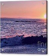 Winter Sunset In Laguna Beach IIi Acrylic Print