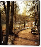 Winter Sunshine Acrylic Print by Julie Palencia