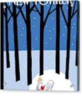 Winter Tails Acrylic Print