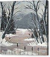 Winter Thaw Acrylic Print