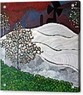 Winter Thaw Acrylic Print by Matthew  James