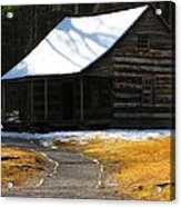 Winter Time At Carter Sheilds Place Acrylic Print