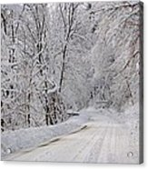 Winter Travel Acrylic Print